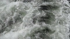 Water waves (top view) Stock Footage
