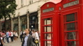 Telephone booth, London Footage