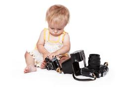 If you a first step photographer - stock photo