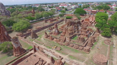 Ancient ruined temple Stock Footage