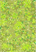 Camouflage Spring-Summer - stock illustration