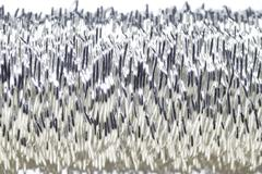 Silver wire - stock photo