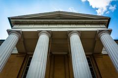 The Lyceum in Alexandria, Virginia. Stock Photos
