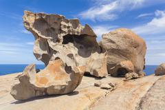 Remarkable Rocks on Kangaroo Island, South Australia - stock photo