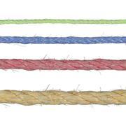 hemp ropes - stock photo