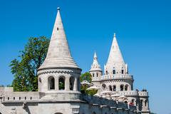 Fisherman's Bastion Stock Photos