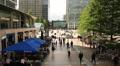 People walking in Canary Wharf, London HD Footage