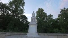 Statue of Helmuth von Moltke the Elder, Berlin Stock Footage