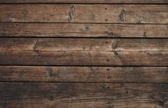 Vintage wooden panel with horizontal planks and gaps Stock Illustration