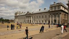 Royal Naval College, Greenwich, London Stock Footage