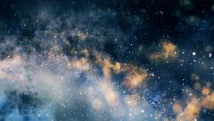 Journey through the stars. Space travelling - the speed of light - stock footage