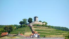 Castle Hohenbeilstein - stock photo