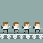 Business situation Stock Illustration