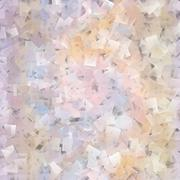 Beautiful squared mosaic in soft pastel spectrum - stock illustration