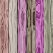 Colorful wooden plank panel - background Stock Illustration