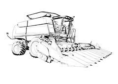 Stock Illustration of harvest illustration art drawing