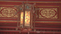 Decorative lamp in Ho Chi Minh City, North Vietnam Stock Footage