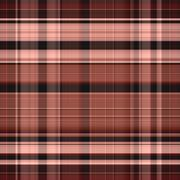 Seamless gingham pattern in pink and brown Stock Illustration