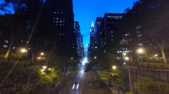 Tudor City Overpass NYC Stock Footage