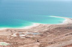 Natural environmental disaster on Dead Sea shores Kuvituskuvat