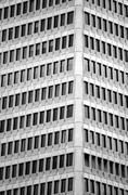 Transamerica Pyramid building windows Stock Photos