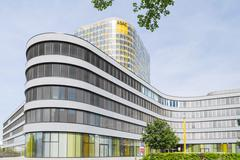 Stock Photo of New headquarters of German car owners association ADAC