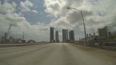 Seaplane Miami Stock Footage