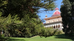 Palace of Monserrate in Sintra Stock Footage