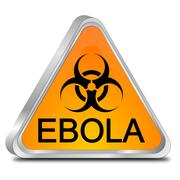 Ebola Hazard Sign Kuvituskuvat