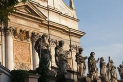 Church of St Peter and Paul in Krakow - stock photo