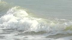 Impending wave. Slow motion. Stock Footage