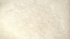Empty aged paper background with space for Your text or design. Seamless Looping Stock Footage