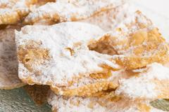 Funnel cake Stock Photos