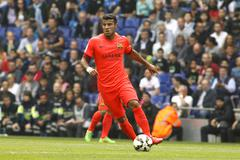 Rafinha Alcantara of FC Barcelona Stock Photos