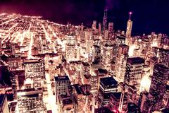 City of Chicago - stock photo