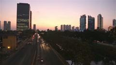 The nights of Jakarta Stock Footage