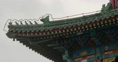 4K Drum Tower Closeup Tianjin China Stock Footage