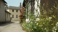 Little village in Normandy, France Stock Footage