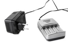 AA sized Battery charger - stock photo