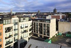 Morning view of downtown Dublin Kuvituskuvat