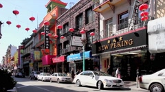 Chinatown of San Francisco Stock Footage