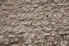 Fieldstone Wall - stock photo