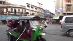 Thai New Year in Bangkok - Songkran Stock Footage