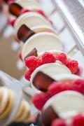 delicious desserts - stock photo