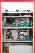 Stock Photo of Rescue Tools Equipment