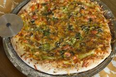 Artisan Pizza - stock photo
