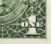 u.s.  dollars - stock photo