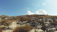 Mountains in Mallorca - stock footage