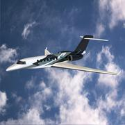 Cessna Citation longitude business jet 3D Model