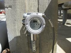 gas analyzer - stock photo